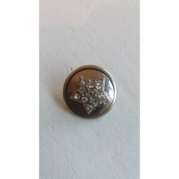 Bottone argento Metallo