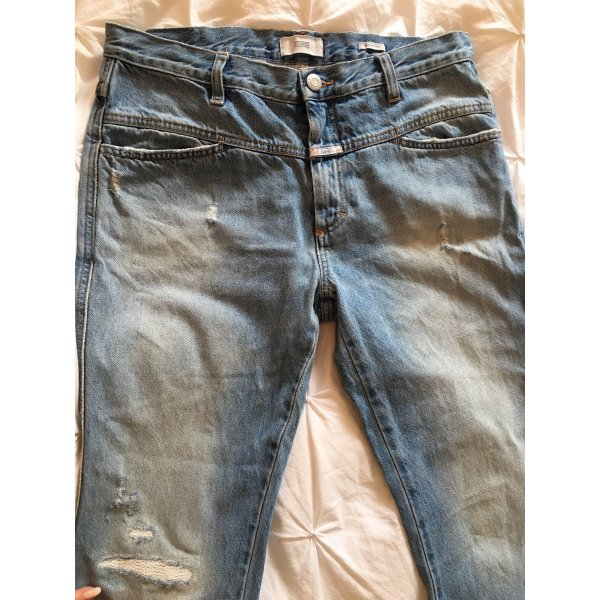 Closed Jeans Modell Cropped Worker