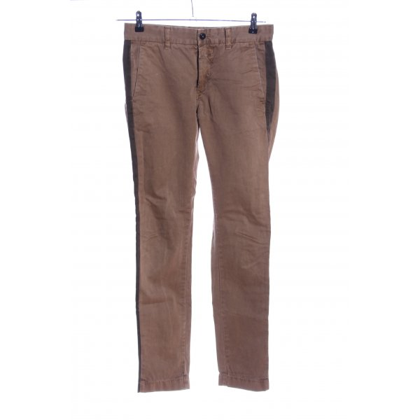 Closed Röhrenhose braun-khaki Casual-Look