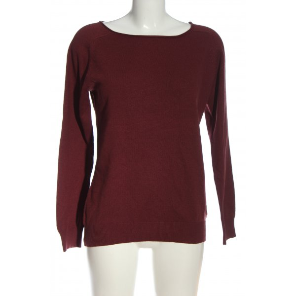 Closed Strickpullover rot Casual-Look