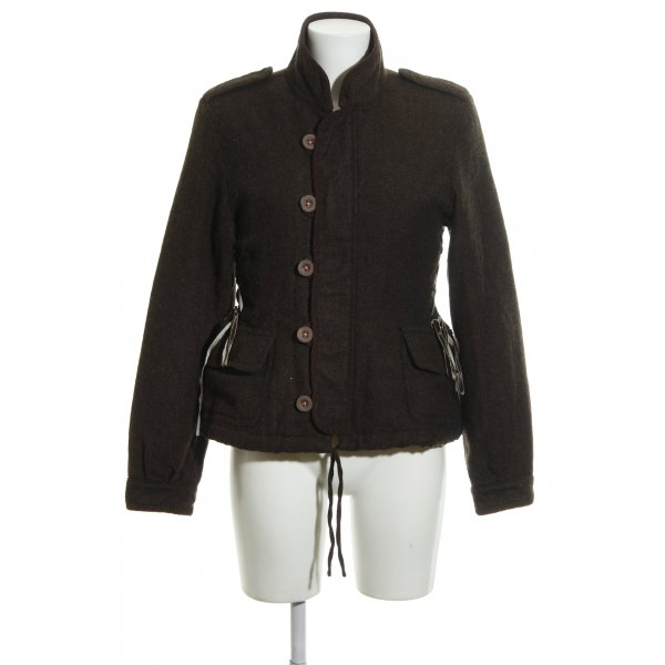 Closed Wool Jacket brown flecked casual look