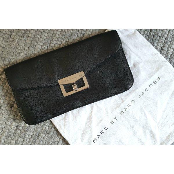 Clutch Marc Jacobs schwarz Leder