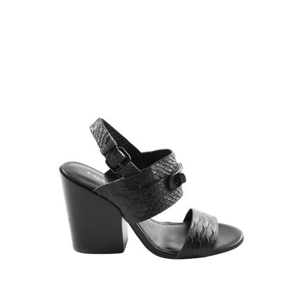 Coach High Heel Sandaletten schwarz Elegant