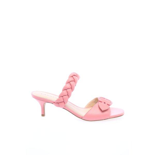 "Coach Riemchen-Sandaletten ""Mollie Leather Sandal"" pink"