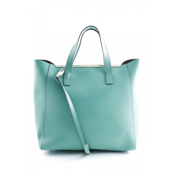 Coccinelle Carry Bag turquoise casual look