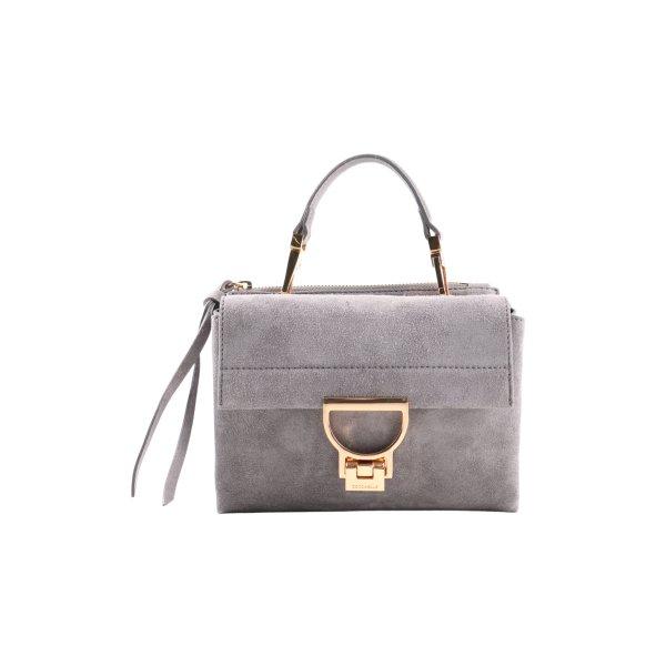 Coccinelle Tasche hellgrau Business-Look