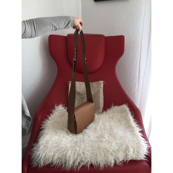 Coccinelle Carry Bag bronze-colored leather