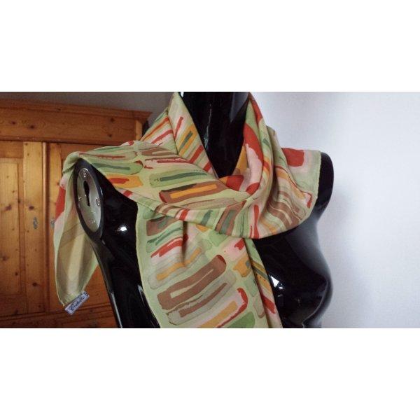 Codello Pañuelo de seda multicolor Seda