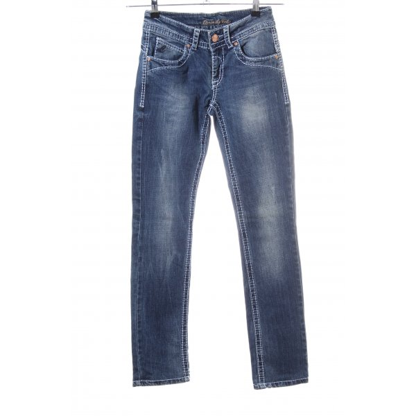 Colac Collection Hüftjeans blau Casual-Look