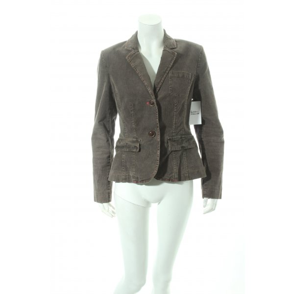 Comma Blazer hellbraun Country-Look