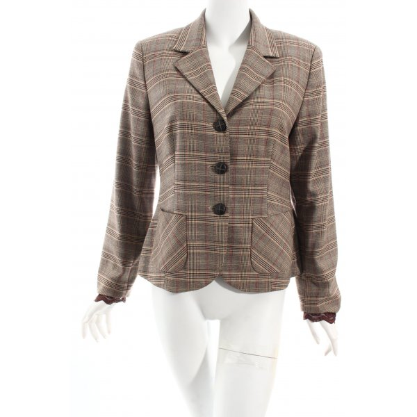 Comma Blazer Karomuster Business-Look