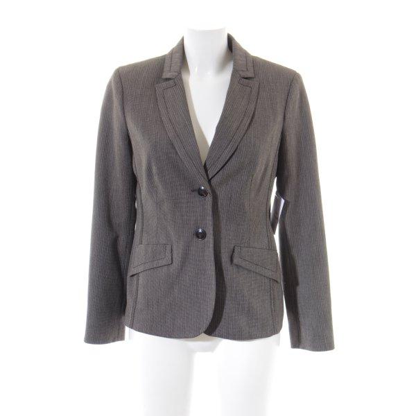 Comma Jerseyblazer schwarz-grau Business-Look