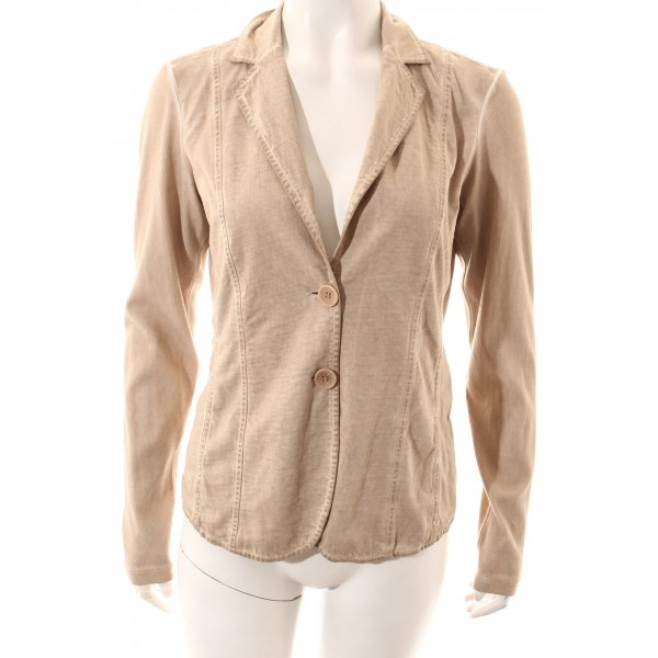 Comma Sweatblazer beige Casual-Look