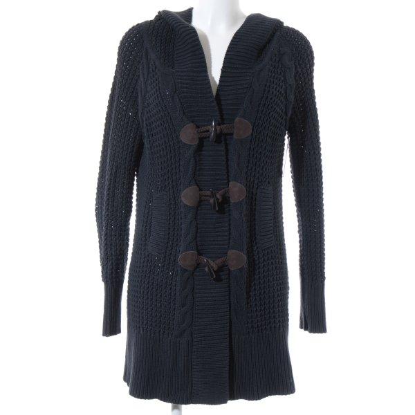 Comptoir des Cotonniers Cardigan dunkelblau-graubraun