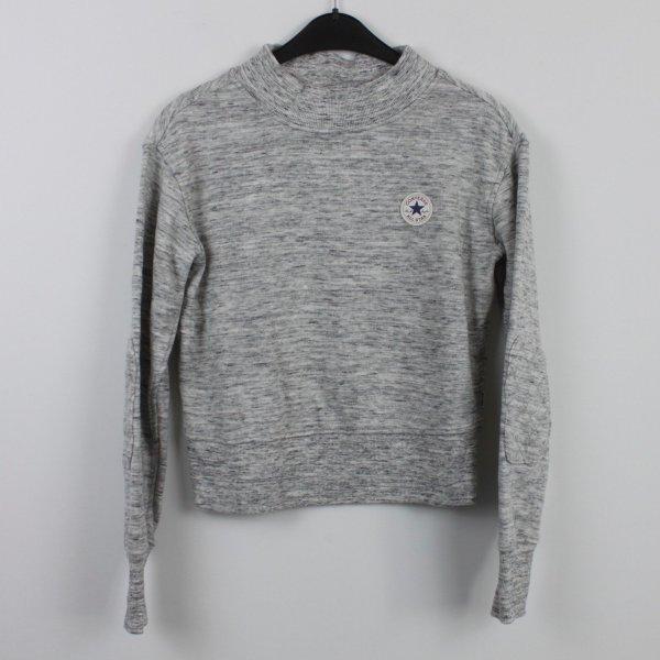 CONVERSE Sweatshirt Gr. S grau meliert (18/9/533/K)