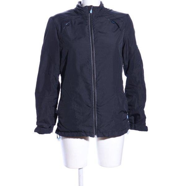Sportjacke blau Casual-Look