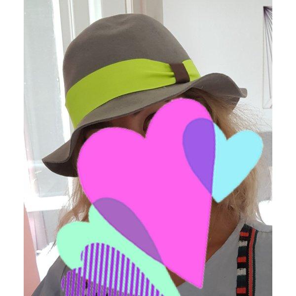 Zachte hoed veelkleurig Wol