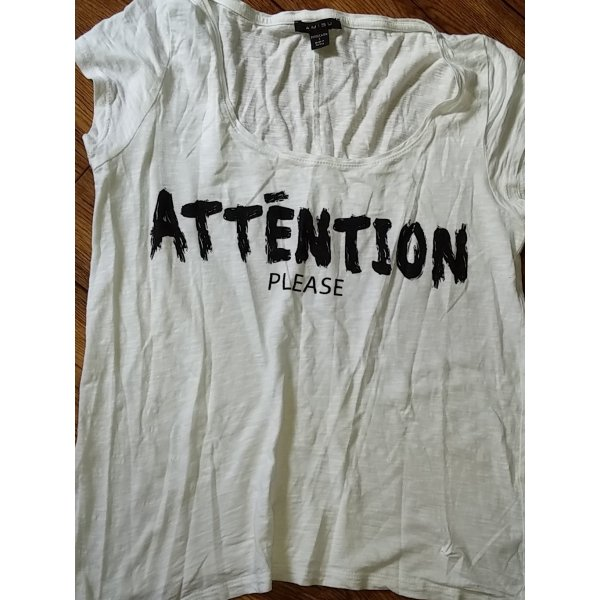 Pimkie Batik shirt wit-zwart
