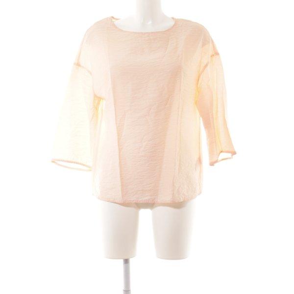 COS Langarm-Bluse apricot schlichter Stil