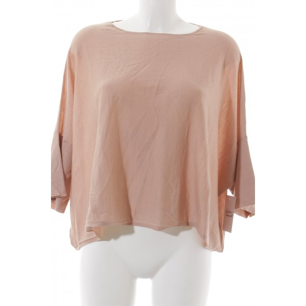 COS Oversized Shirt rosé Kuschel-Optik
