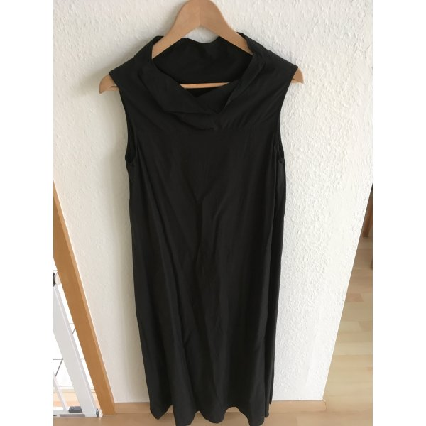 COS Sommerkleid 7/8 Länge schwarz