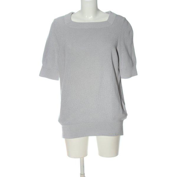 COS Strickshirt hellgrau Casual-Look