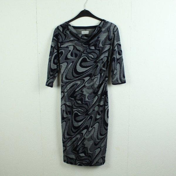 COSTURA BERLIN Kleid Gr. 38 blau weiß (21/02/026*)