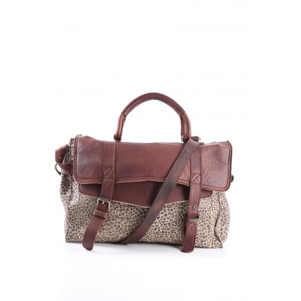 Cowboysbag Schultertasche Leomuster Casual-Look