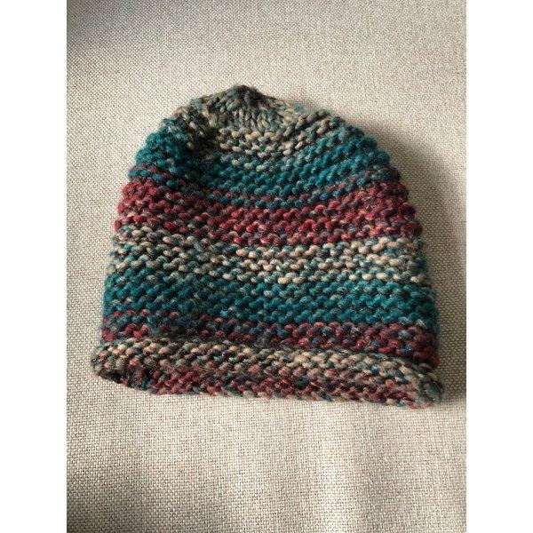 Cox Chapeau en tricot multicolore