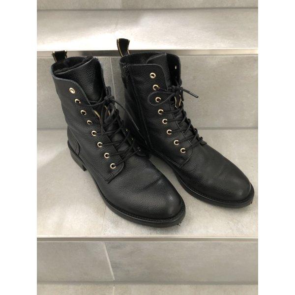 Cox Stiefel stiefelletten 38 Schuhe boots schwarz Mode Fashion Blogger