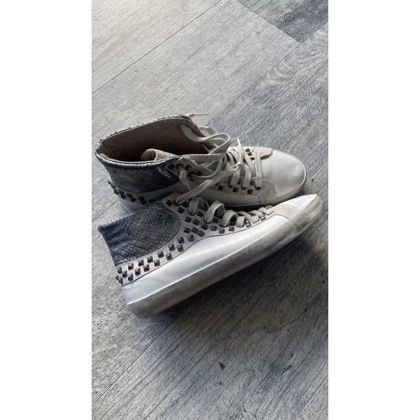 Crime Leder Sneaker  Gr. 38  Used Look