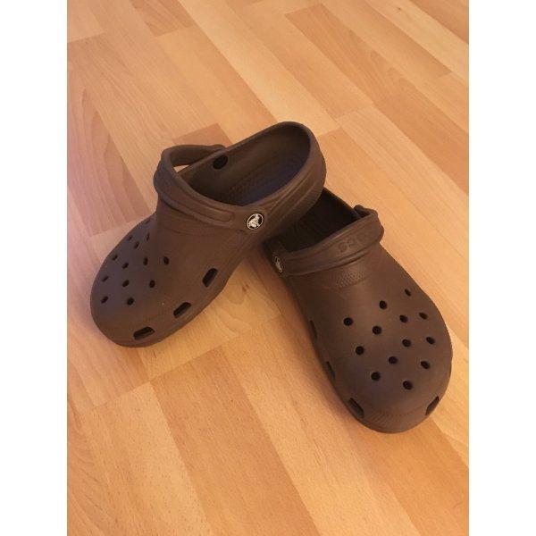 Crocs Slip-on Shoes dark brown