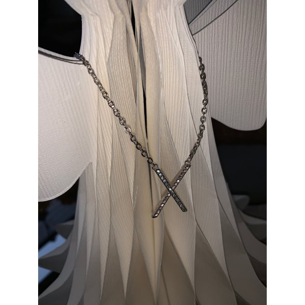 Croisette Collierkette mit Kreuz