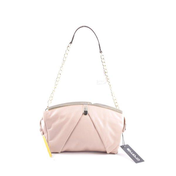 Cromia Handtasche altrosa klassischer Stil