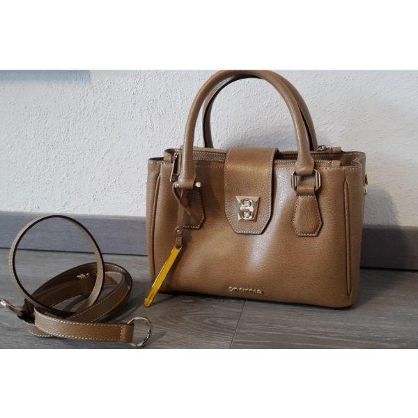 CROMIA Lederhandtasche, WIE NEU, beige