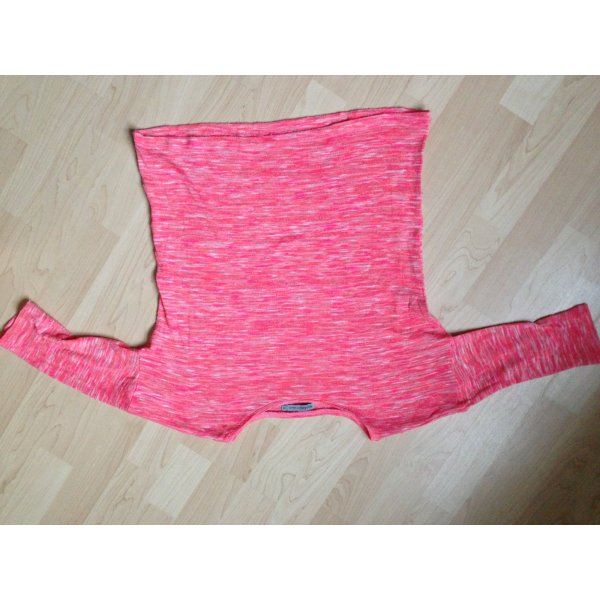 Crop Top neon korall