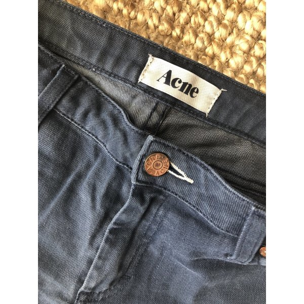 Cropped Acne Skinny Jeans