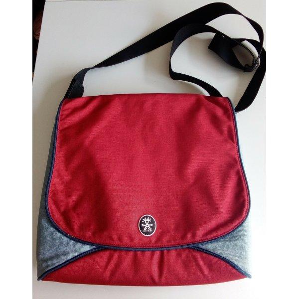 Crumpler Mc Bain's Baby-L Tasche in rot/grau Maße ca. 38 x 34 x 5 cm