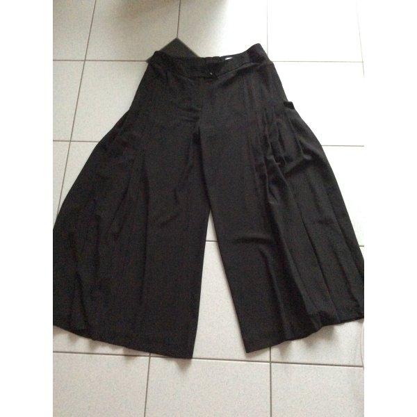 Culottehose/Hosenrock schwarz Gr. 21 elegant