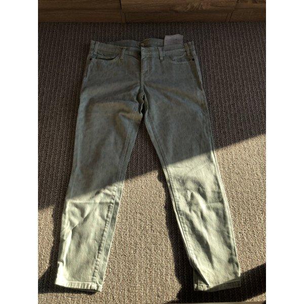 Current/elliott Jeans a 7/8 verde-grigio-menta