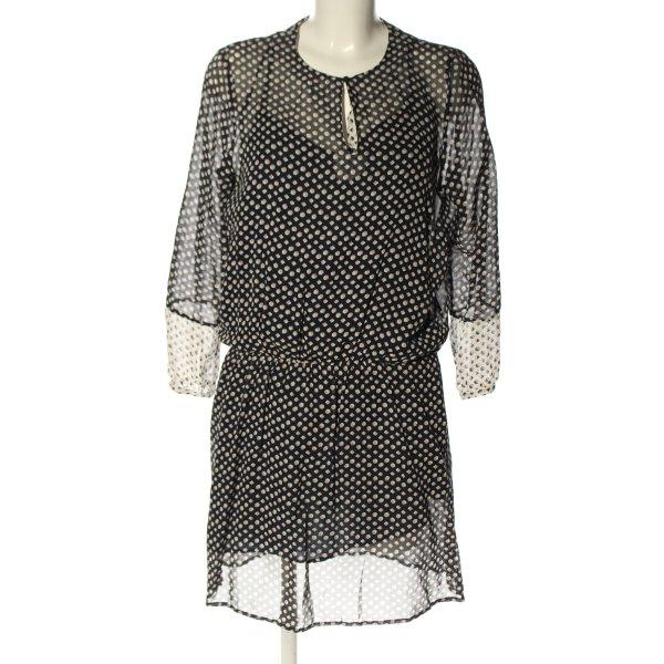 Custommade Blusenkleid Allover-Druck Casual-Look