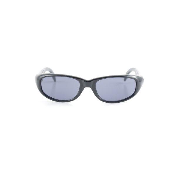Dolce & Gabbana Retro Glasses black-azure '90s style