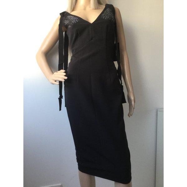 Damen Kleid mit Schleife von Zara Gr.XS