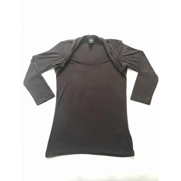 Damen Shirt 3/4-Arm, Esprit. braun, Gr. M