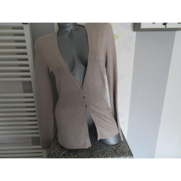 Damen Strickjacke Cardigan Größe 42 von More & More (Nr1692)
