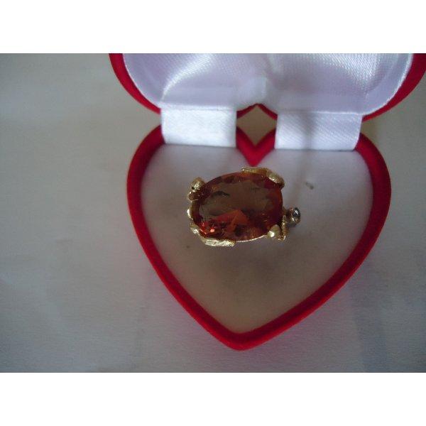 Damenring Silber Alexandrit