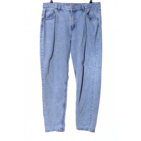Denim Co. Slim Jeans kornblumenblau Casual-Look