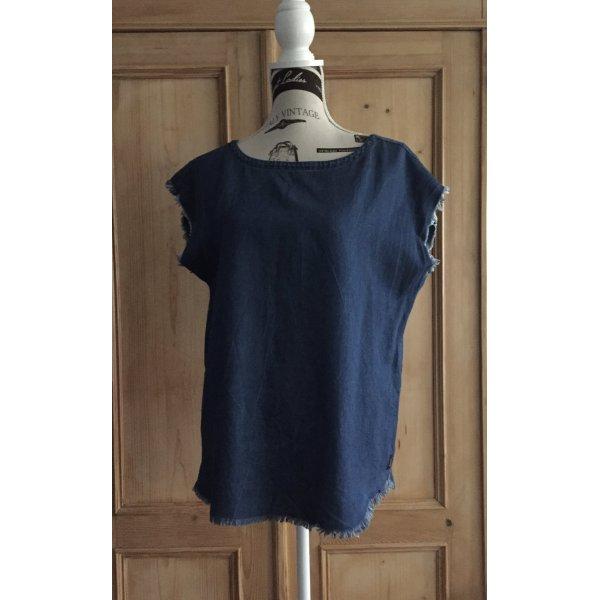 Denim-Shirt / Bluse/Tunika