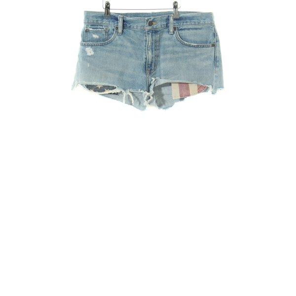 Denim & Supply Ralph Lauren Jeansshorts blau Casual-Look