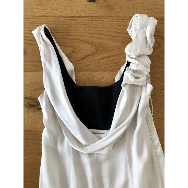 Designer Abendkleid / Hochzeitskleid aus Seide Größe 40
